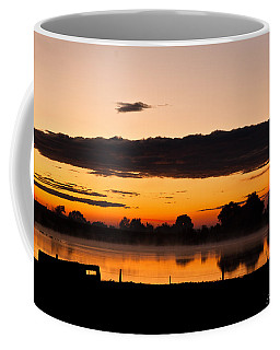 Rancher's Sunrise Coffee Mug by Steven Reed