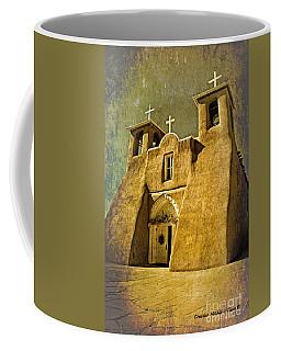 Ranchos Church In Old Gold Coffee Mug