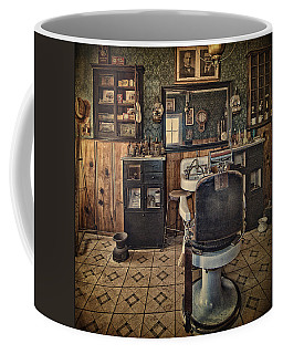 Randsburg Barber Shop Interior Coffee Mug