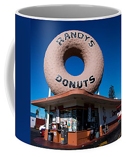 Randy's Donuts Coffee Mug by Stephen Stookey