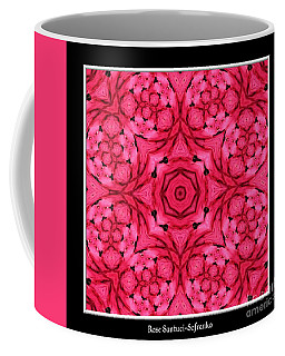 Coffee Mug featuring the photograph Ranunculus Flower Warp by Rose Santuci-Sofranko