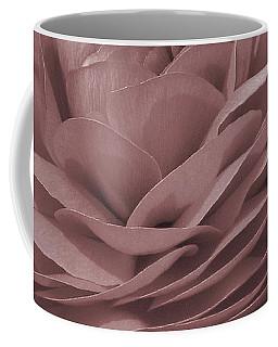 Coffee Mug featuring the photograph Ranunculus Red by Jean OKeeffe Macro Abundance Art