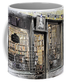 Rare Books Latin Quarter Paris France Coffee Mug