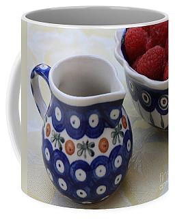 Raspberries With Cream Coffee Mug