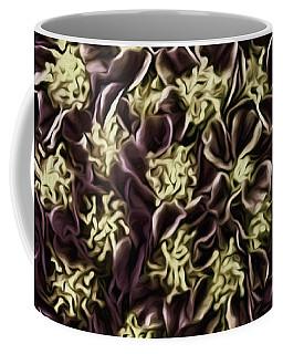 Coffee Mug featuring the photograph Raspberry Circles by Jean OKeeffe Macro Abundance Art