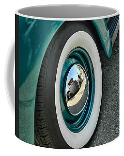 Coffee Mug featuring the photograph Rat Rod Reflection by Victor Montgomery