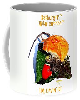 Ratburger With Cheese Coffee Mug