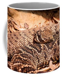 Rattlesnake Up Close And Personal Coffee Mug