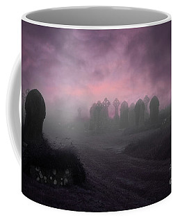 Rave In The Grave Coffee Mug by Terri Waters