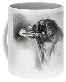 Raven Head Coffee Mug