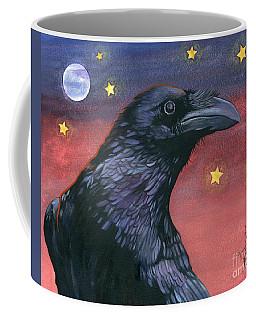 Raven Steals The Moon - Moon What Moon? Coffee Mug