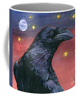 Raven Steals The Moon - Moon What Moon? Coffee Mug