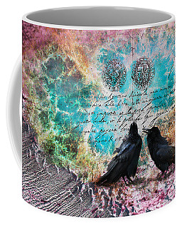 Crow Whispers In The Nowhere Coffee Mug