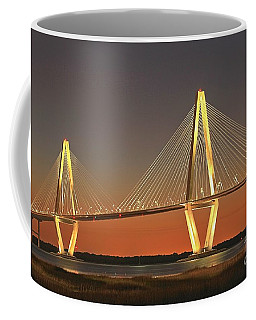 Ravenel Bridge At Dusk Coffee Mug