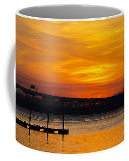 Coffee Mug featuring the photograph Orange Blaze by Dale Powell