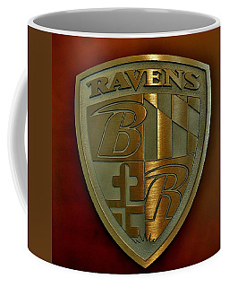 Ravens Coat Of Arms Coffee Mug by Robert Geary