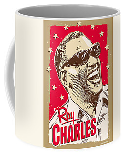 Ray Charles Pop Art Coffee Mug