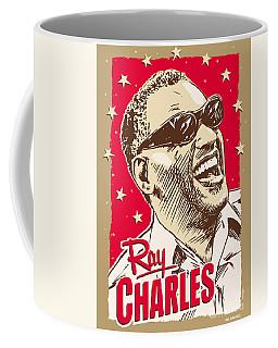 Ray Charles Pop Art Coffee Mug by Jim Zahniser