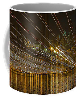 Coffee Mug featuring the photograph Rays Over The Bay by Gary Holmes