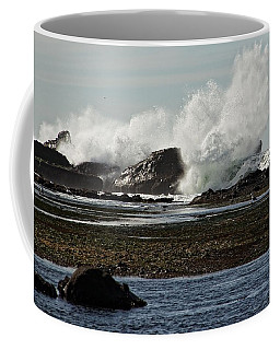 Coffee Mug featuring the photograph Reaching For The Sky by Dave Files