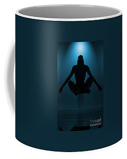 Coffee Mug featuring the photograph Reaching Nirvana.. by Nina Stavlund