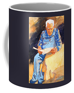 Reading Time Coffee Mug by Kathy Braud