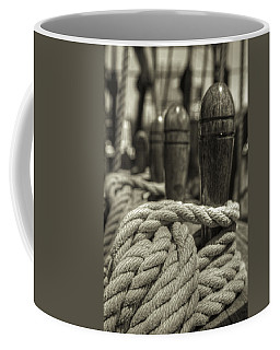 Ready For Work Black And White Sepia Coffee Mug