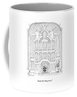Ready, Hans? Deep Breath Coffee Mug