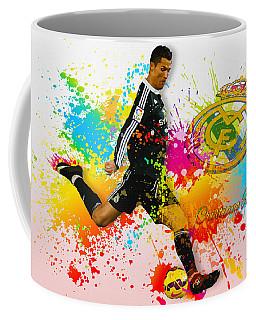 Real Madrid - Portuguese Forward Cristiano Ronaldo Coffee Mug
