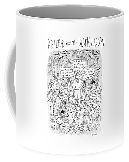 'realtor From The Black Lagoon' Coffee Mug
