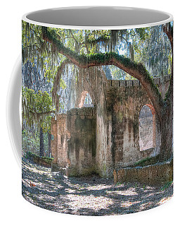 Rear View Of The Chapel Of Ease Coffee Mug