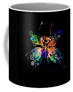 Rebirth Coffee Mug by Fran Riley