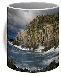 Receding Storm At Gulliver's Hole Coffee Mug by Marty Saccone
