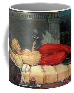 Reclining Woman Coffee Mug