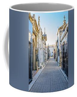 Recoleta Cemetery View Coffee Mug