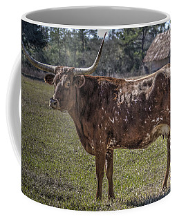 Red 507 Longhorn Coffee Mug