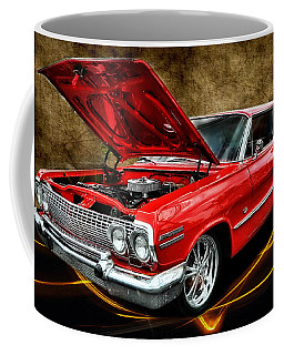 Red '63 Impala Coffee Mug