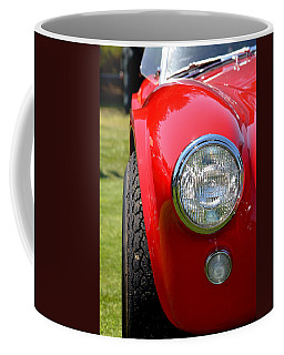 Coffee Mug featuring the photograph Red Ac Cobra by Dean Ferreira