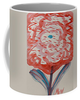 Red And Baby Blue Coffee Mug