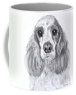 Red And White Cocker Spaniel Coffee Mug