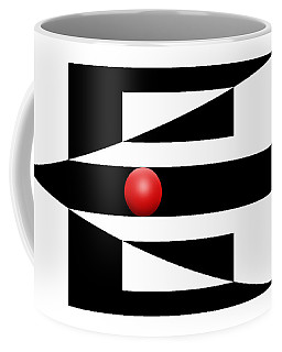 Red Ball 3 Coffee Mug