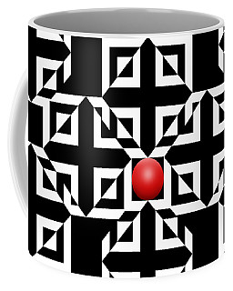 Red Ball 5 Coffee Mug