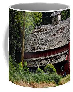 Red Barn - County Road  Coffee Mug