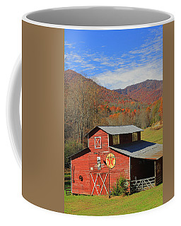Red Barn Coffee Mug