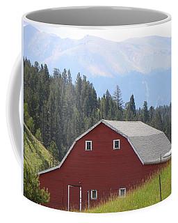 Barn - Pikes Peak Burgess Res Divide Co Coffee Mug