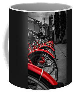 Red Bicycles Coffee Mug