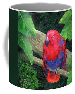 Red Bird Coffee Mug