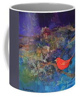 Red Bird Coffee Mug by Robin Maria Pedrero