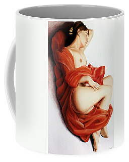 Red Blanket Coffee Mug