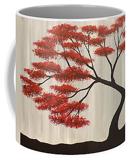 Red Bonsai Coffee Mug